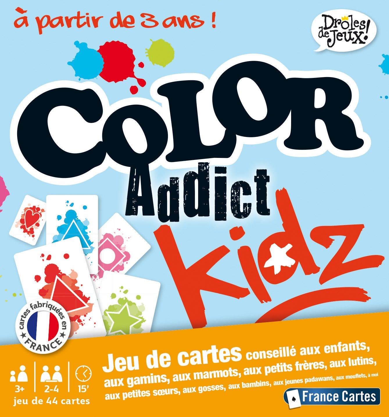 Dr/ôles De Jeux 410401 Color Addict Deluxe