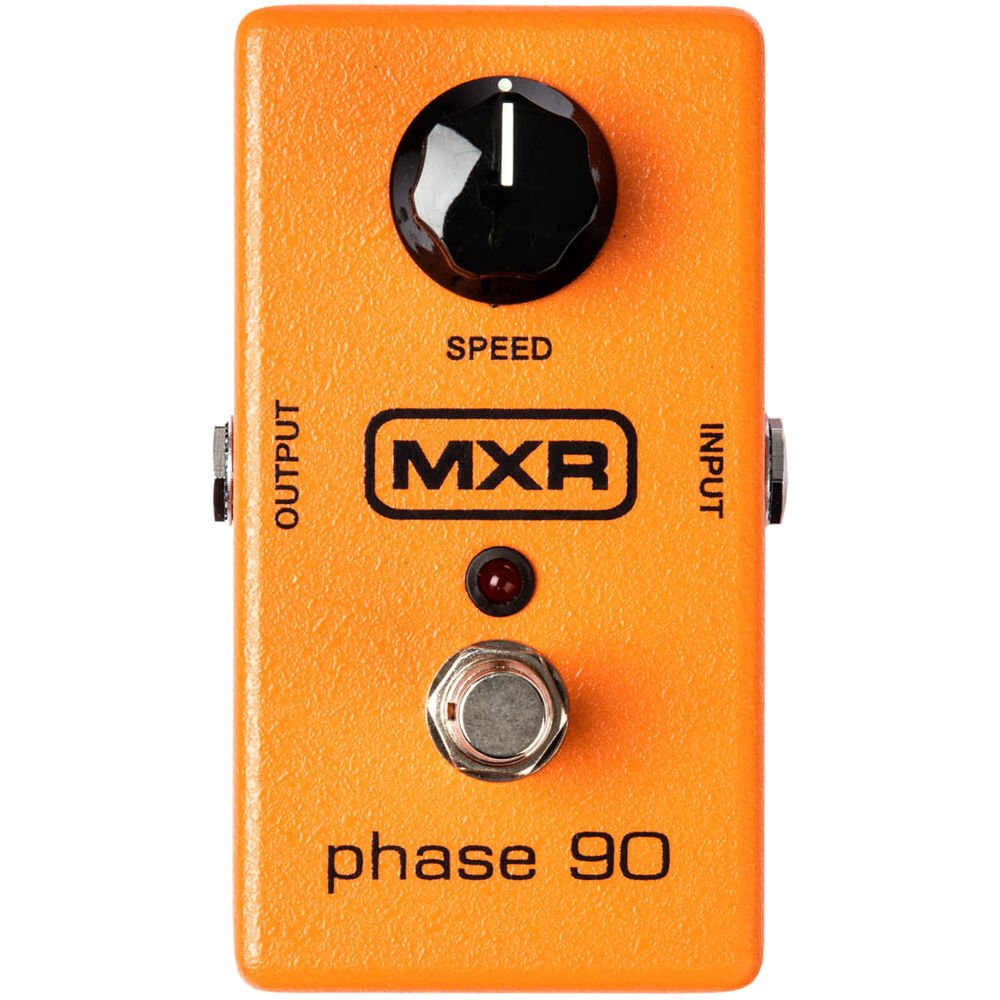 MXR M101 Phase 90 Phaser Pedal w/Bonus RIS Pick (x1) 710137006522 by MXR