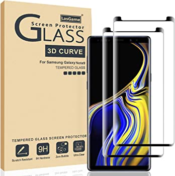 2-Pack LasGame 3D Curve Glass Screen Protector
