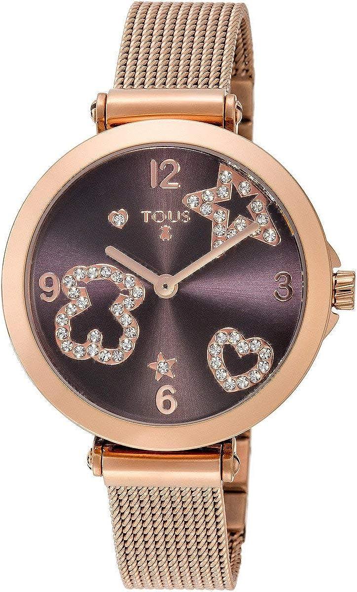 Reloj Icon Mesh de Acero con espinelas Ref:600350380/600350390 / 600350385