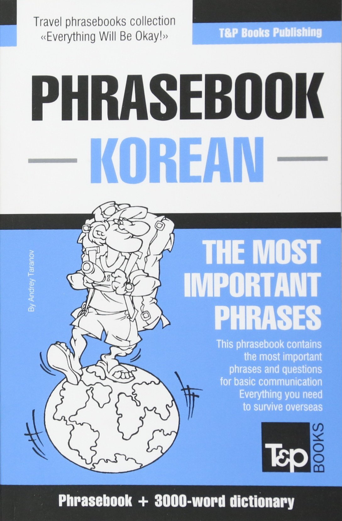 English Korean Phrasebook And 3000 Word Topical Vocabulary Andrey