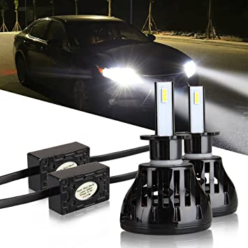 Easy Eagle Auto Faro Bombillas LED Luz 80 W 9600lm Plug-It para herramientas (