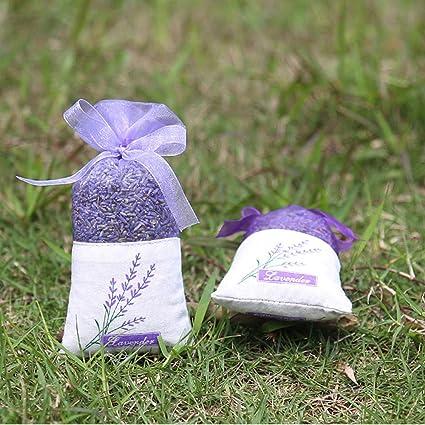 IWILCS 30 St/ück Lavendel Beutel Hellviolett Kordelzugbeutel Sack Dufts/äckchen mit Blumendruck Leere Duft Lavendels/äckchen