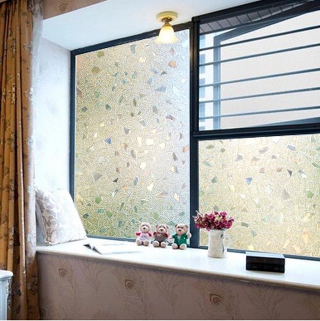 Geseni Window Sichtschutzfolie Milchglasfolie Fensterfolie