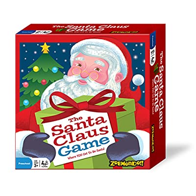 The Santa Claus Game – Best Seller, Holiday Board Game – Award Winning, Holiday Game, Christmas Game, Kids Board Game, Educational Game, xmas game, Easy Game – Perfect Gift This Holiday: Toys & Games