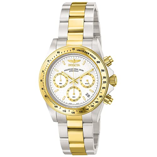 Invicta Mens 9212 Speedway Analog Japanese Quartz Chronograph Stainless Steel Watch