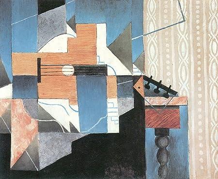 El Museo de salida – guitarra y cristal por Juan Gris – A3 Poster ...