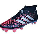 Adidas Kakari Force, Zapatillas de Rugby para Hombre, Negro (Negbas/Nocmét/Negbas), 42 EU