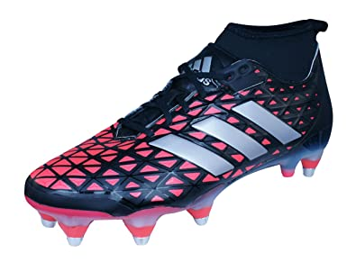 online retailer 1c91e 97357 adidas Kakari Force SG - Crampons de Rugby - NoirArgentRouge - Taille