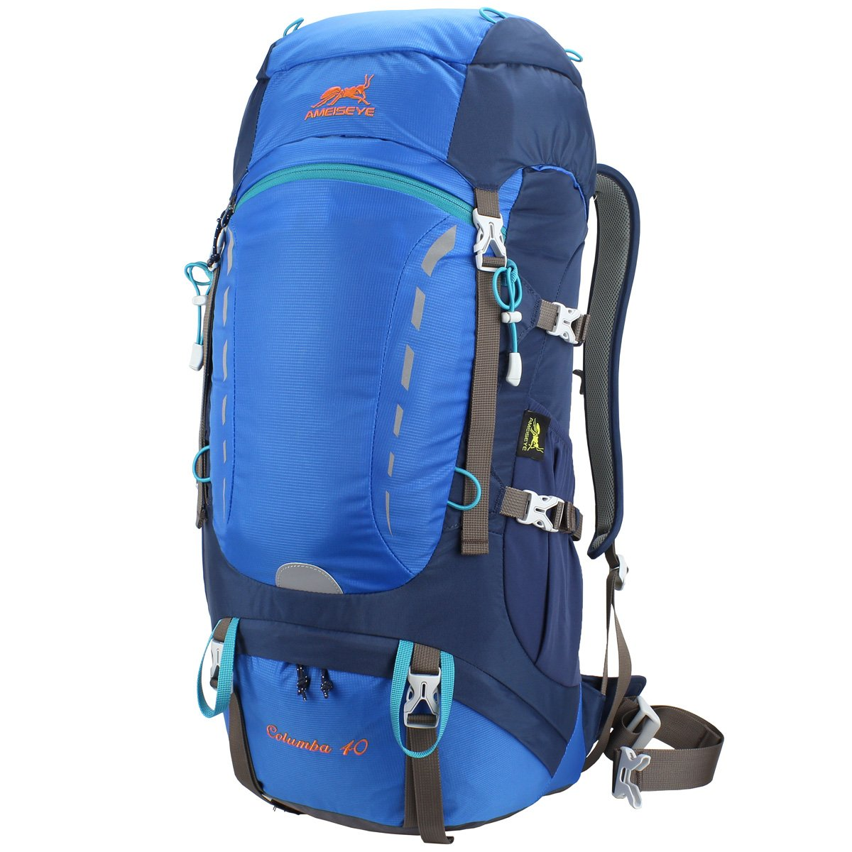4c555f3d1893 Amazon.com   Eshow 40L Internal Frame Backpack Hiking Backpacking Packs for Outdoor  Hiking Travel Climbing Camping Mountaineering Back Pack Men Women ...