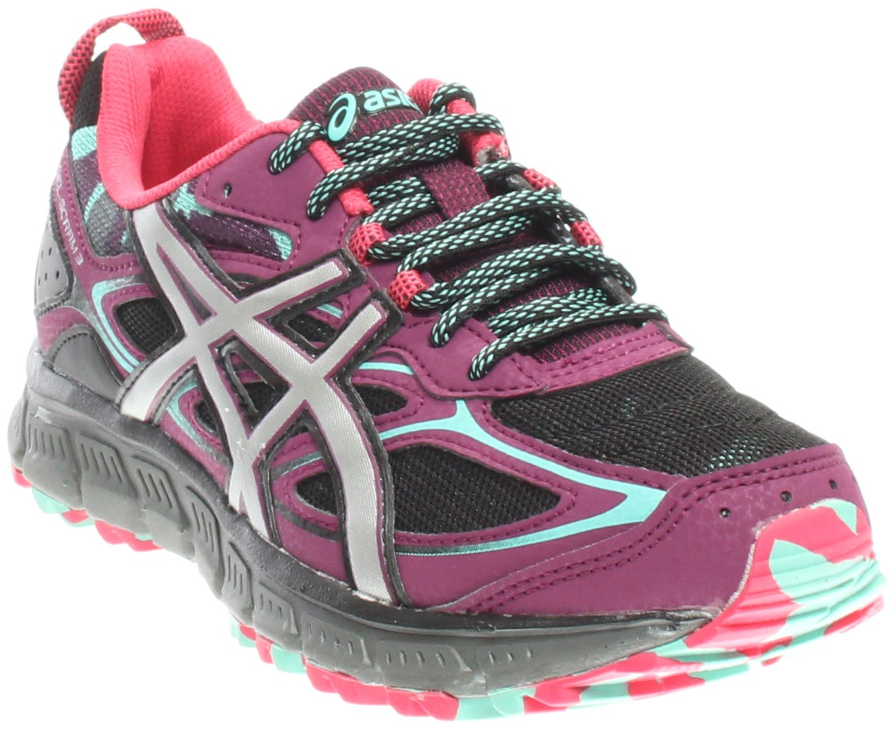 ASICS Women's Gel-Scram 3 Trail Runner B01MZGRVTE 7 M US|Purple