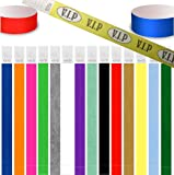 100 Tyvek security paper event wristbands