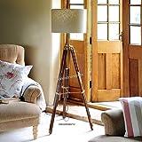 Vintage Designer Tripod Floor Lamp Nautical Floor Lamp Home Decor Shade lamp