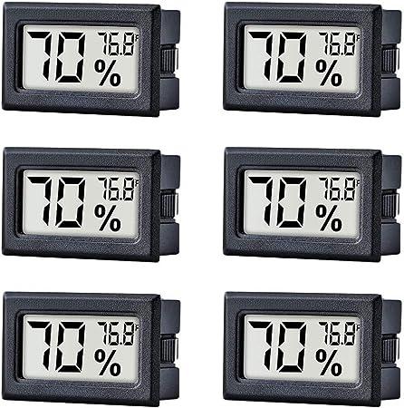 Digital LCD Temperature Indoor Thermometer Meter Mini Humidity Gauge Hygrometer#