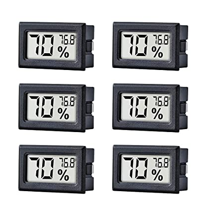 Digital Refrigerator Freezer Thermometer with LCD Display