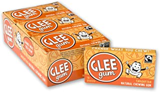 product image for Glee Gum Tangerine, 16-Piece Boxes (Pack of 12)