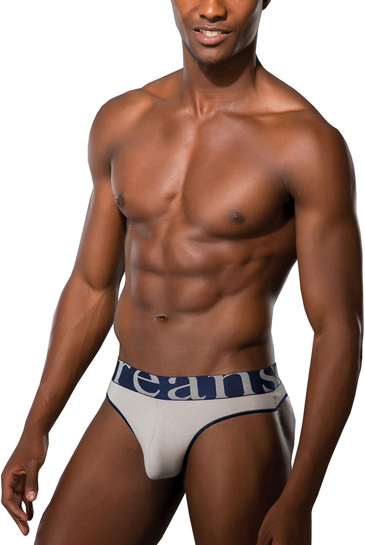 Doreanse String Tanga Herren Basic Sport W/äsche Baumwolle Modal Mens Thong