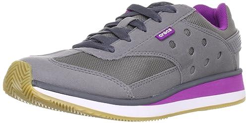 crocs Crocs Retro Sneaker W 14382-085 - Zapatillas de Cuero para Mujer: Amazon.es: Zapatos y complementos