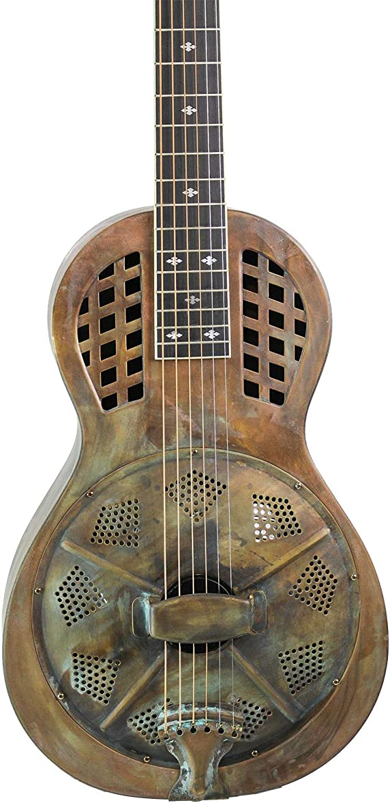Royall Parlorizer Distressed Brass Parlor Resonator