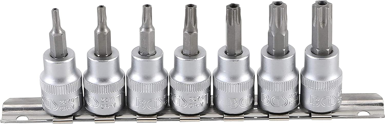 3//8 BGS 5109 | Innensechskant mit Kugelkopf 3-8 mm 10 mm 6-tlg. Bit-Einsatz-Satz
