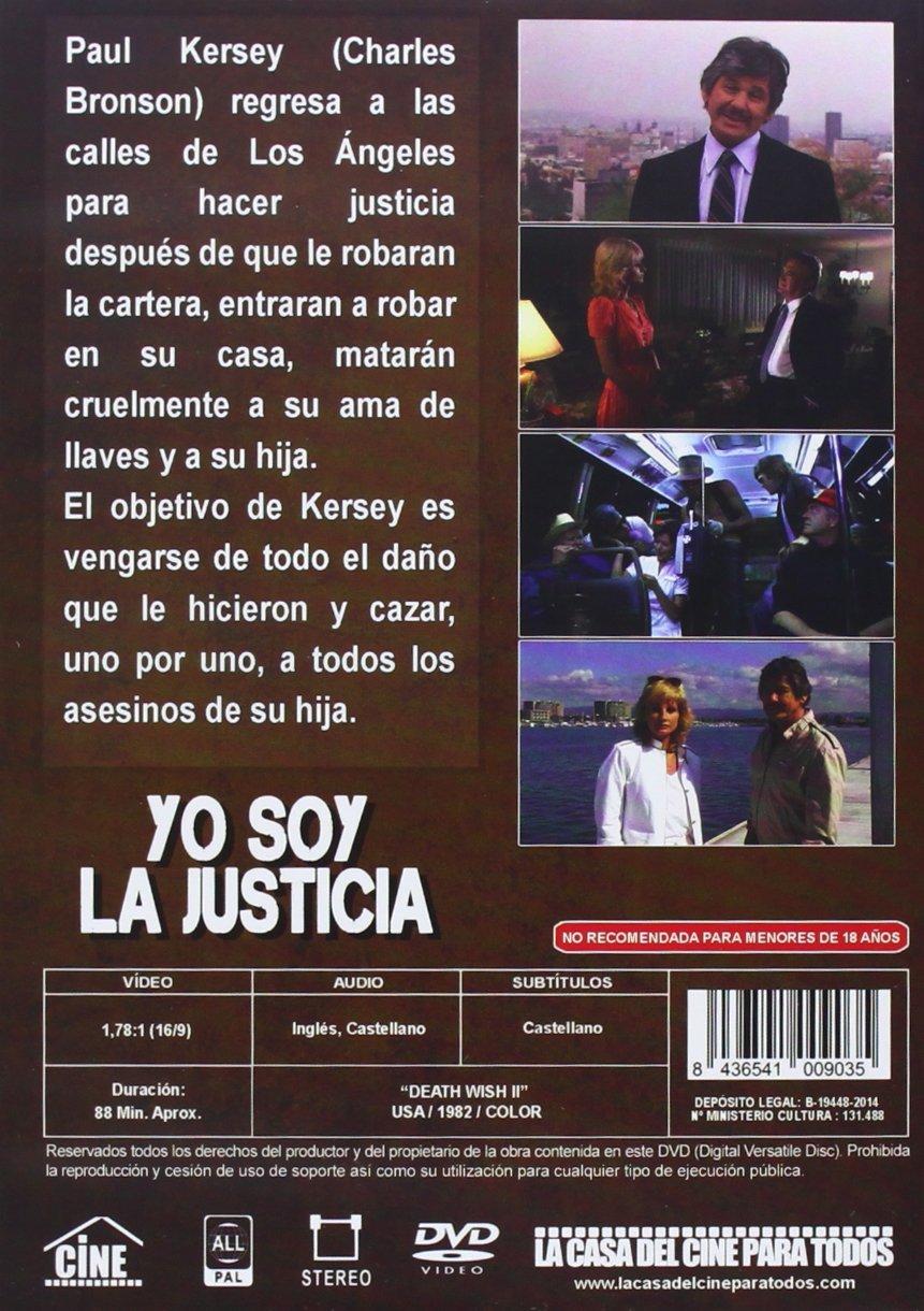Amazon.com: YO SOY LA JUSTICIA (Death Wish 2) All Regions - PAL - Charles Bronson: Movies & TV