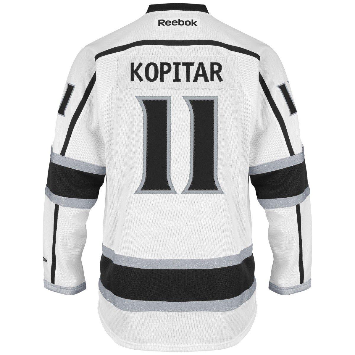 8316ed6ddb9 Amazon.com : Reebok Anze Kopitar Los Angeles Kings White NHL Premier Jersey  : Sports Fan Jerseys : Clothing