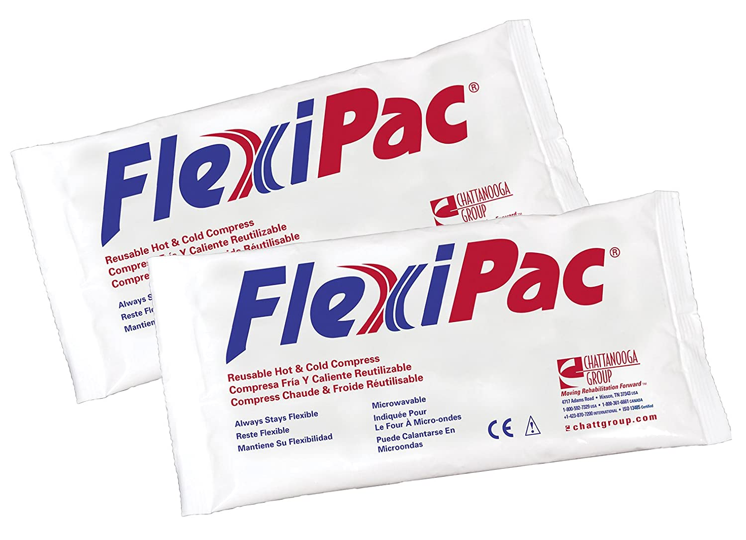 Flexi-PAC Reusable Hot/Cold Compress Pack, 5 x 10