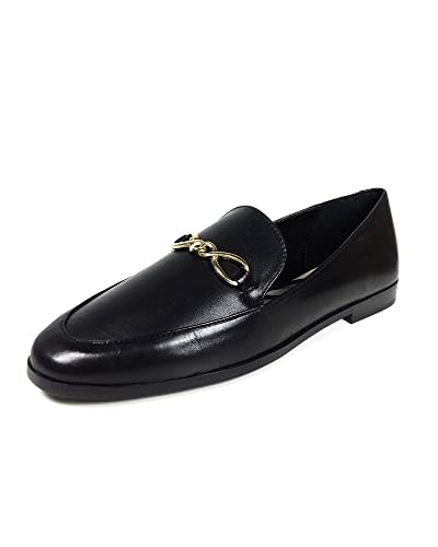 540731c4226 Zara Women's Leather Loafers 6925/301 Black: Amazon.co.uk: Shoes & Bags