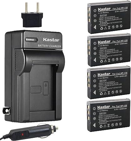 Cargador de Batería para Fuji Fujifilm NP-120 NP120 Finepix F10 F11 Zoom M603