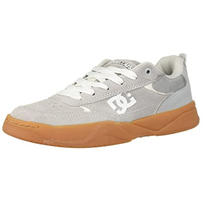 DC Men's Penza Skate Shoe, Grey/Gum, 13 M US: Shoes