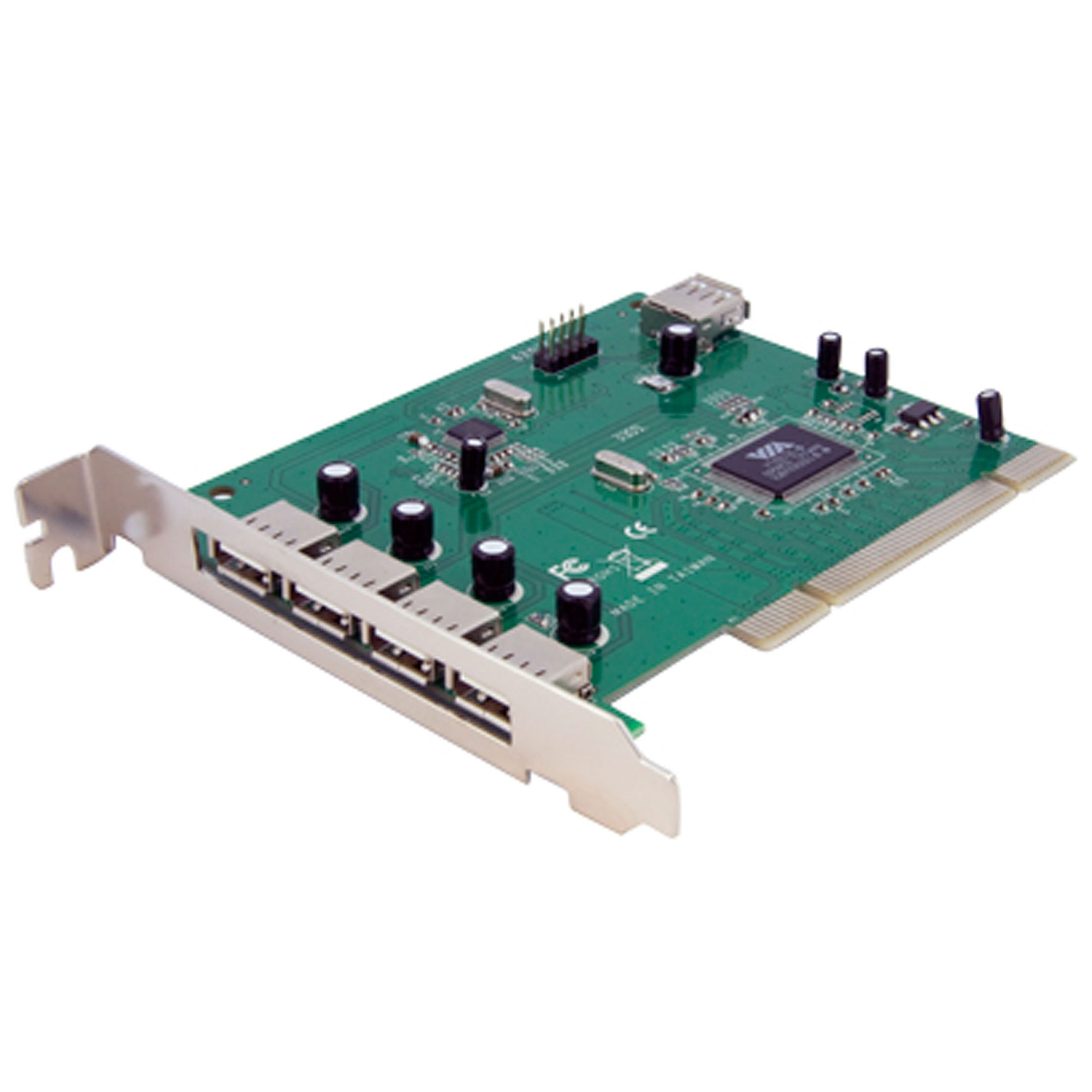 7 Port PCI USB Card Adapter - PCI to USB 2.0 Controller Adap