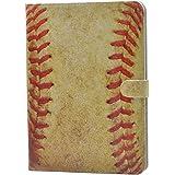 Vintage Baseball Sports Pattern Leather Flip Case Stand Cover For ipad mini 1 2 Retina ipad mini 3