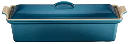 Le Creuset Enameled Cast-Iron 2 Quart Pate Terrine, Marine