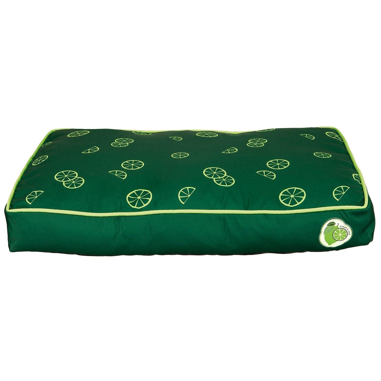 Trixie Fresh Fruits Dog Pillow (35.4 x 25.6 inch) (Dark Green)