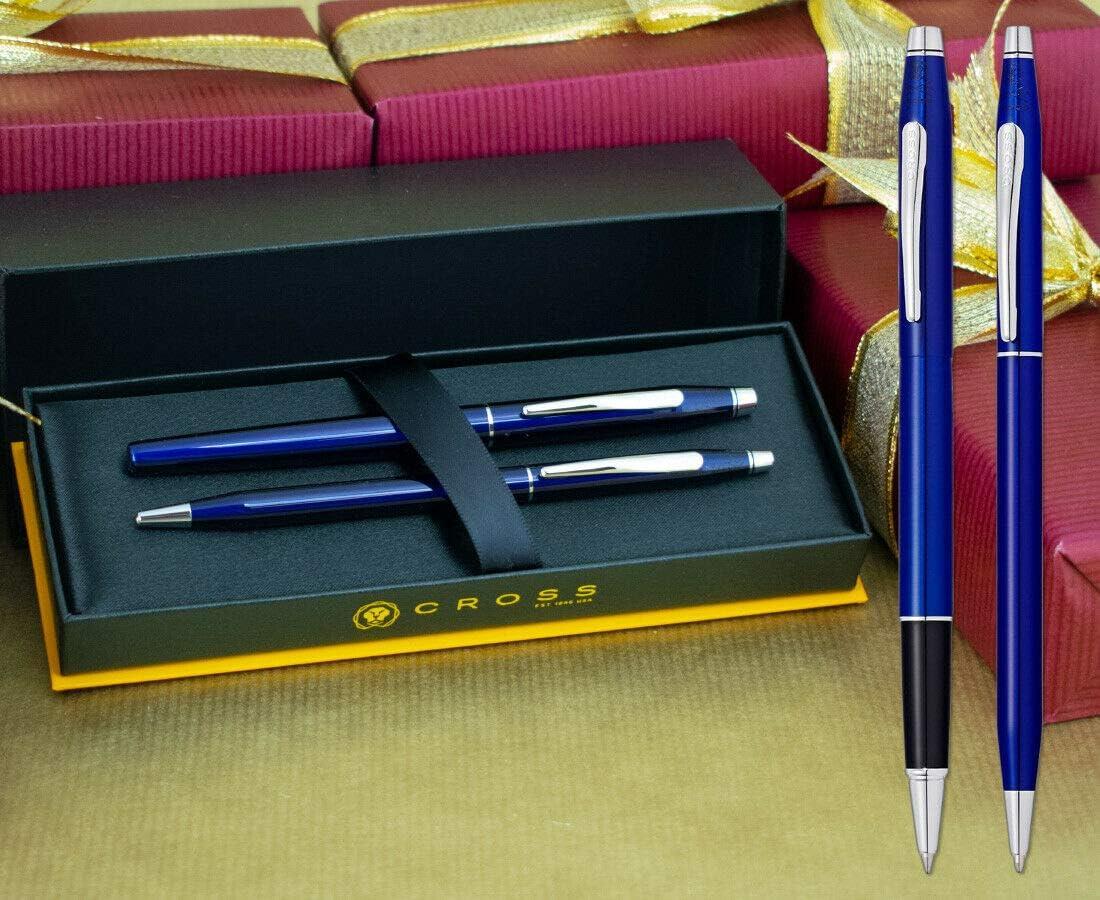 Midnight Purple on a Chrome Grip Twist Pen