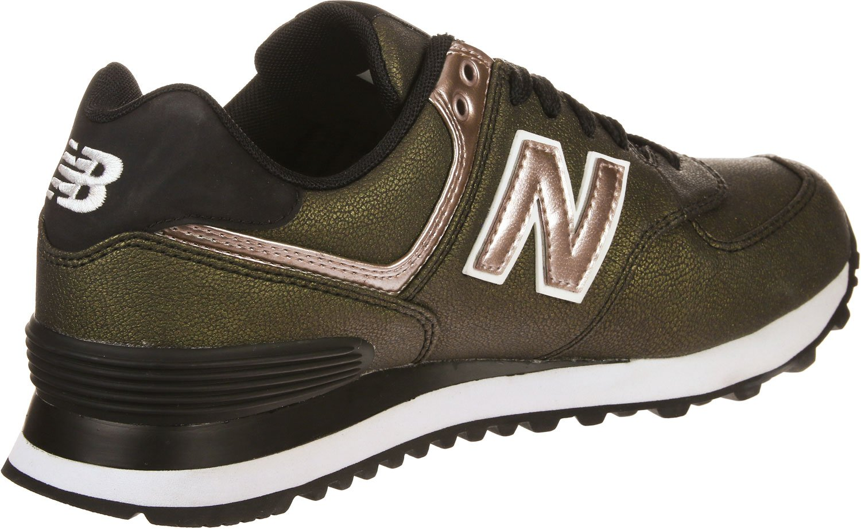 New Balance Balance New Damen 574 Sneaker Braun 6bfd56