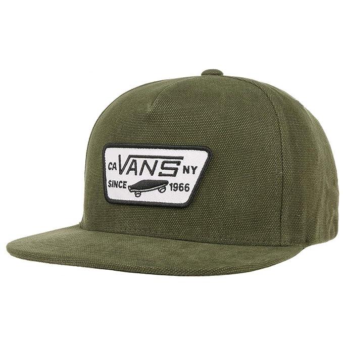 Vans Gorra Full Patch Snapback by gorragorra de beisbol (talla única - verde oliva)