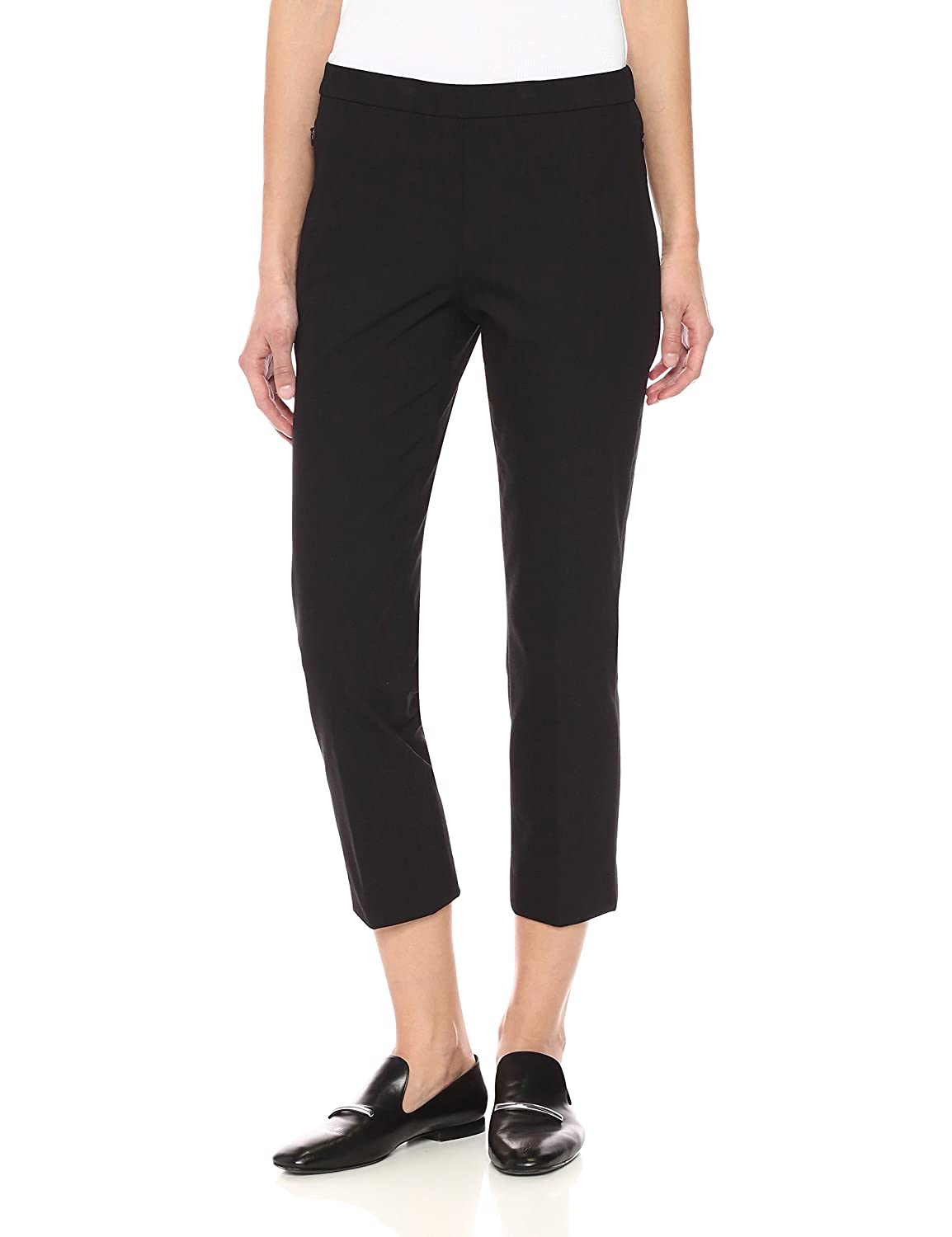 Black Theory Womens Basic Pull on Pant Pants