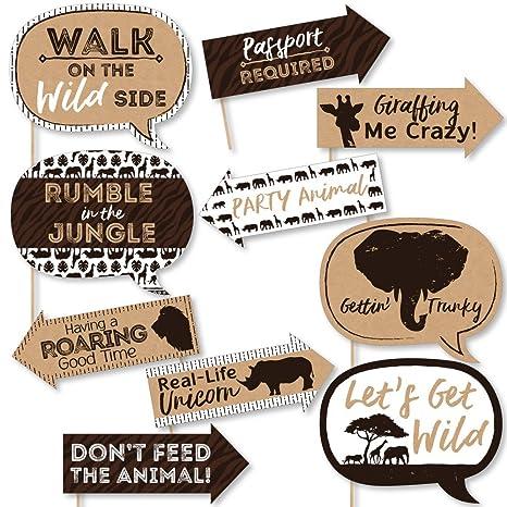 Amazon.com: Funny Wild Safari africano Jungle Adventure ...