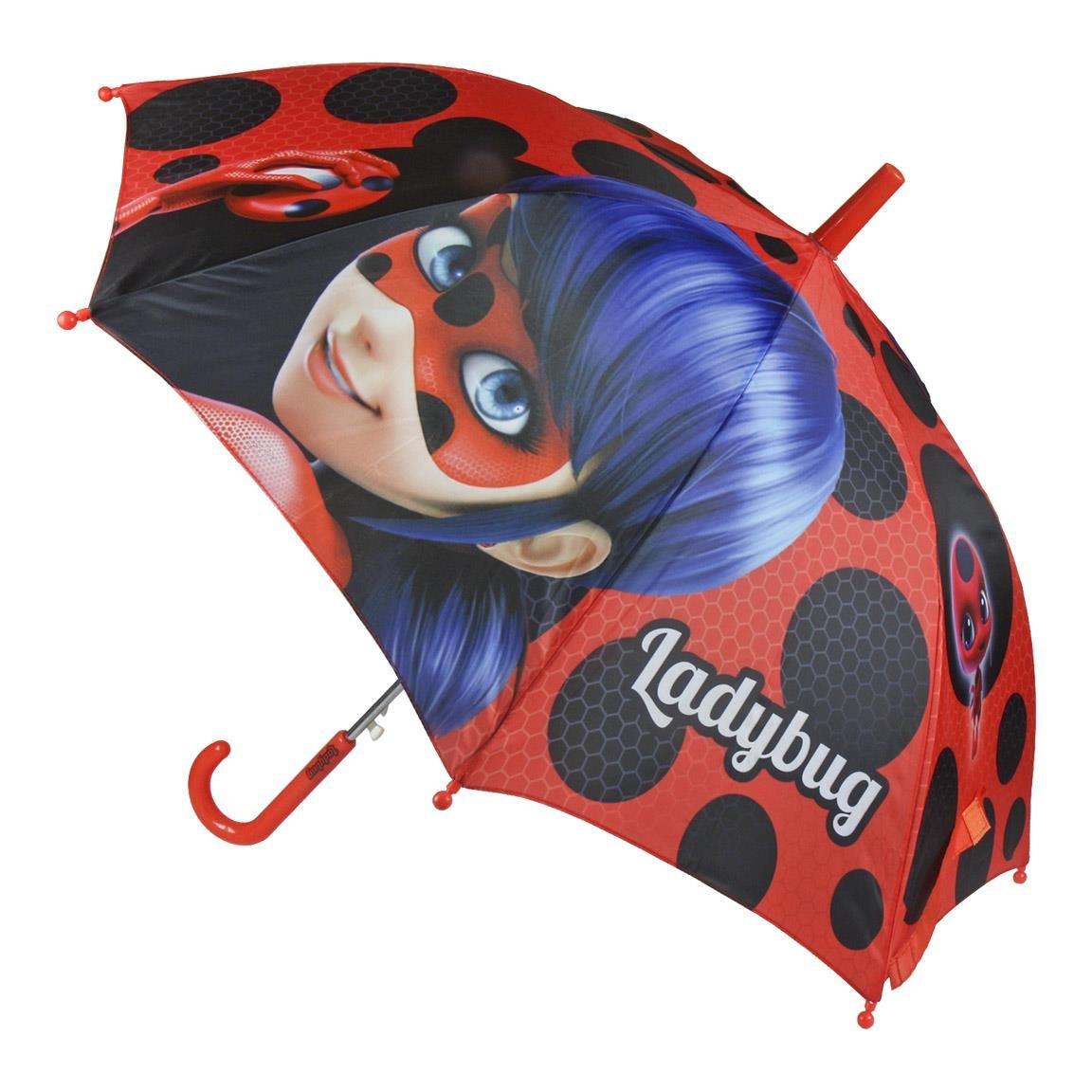 Cerdá Lady Bug, Paraguas para Niñas, Rojo (Rojo 06), (Tamaño del Fabricante:única) 2400000357