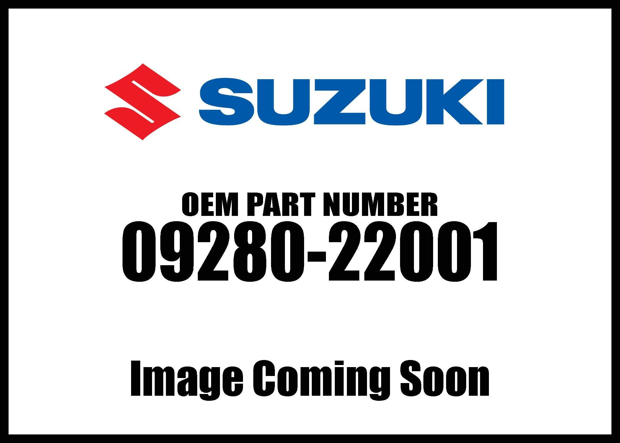 Suzuki 09280-22001 Oil Plug O-Ring QTY 1
