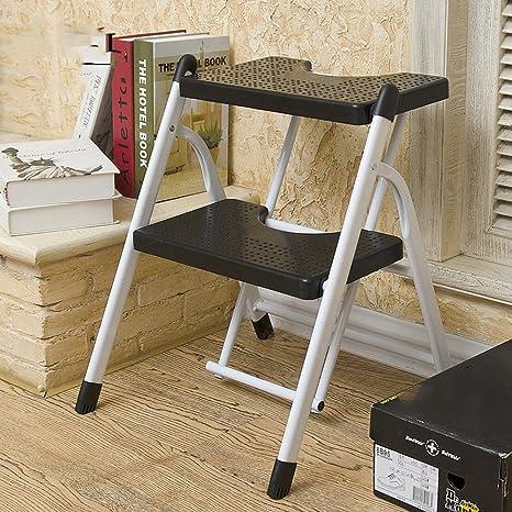 Tremendous Amazon Com Qffl Tideng Step Stool Thick Folding Mobile Creativecarmelina Interior Chair Design Creativecarmelinacom