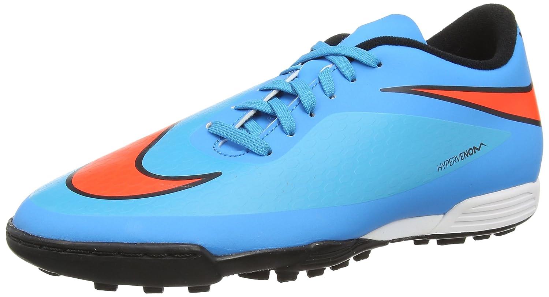 Nike Hypervenom Phade TF, Herren Schuhe Fuszlig;ball Training  43 EU Blue (Clearwater/Total Crimson/Bl Lagoon/Black)