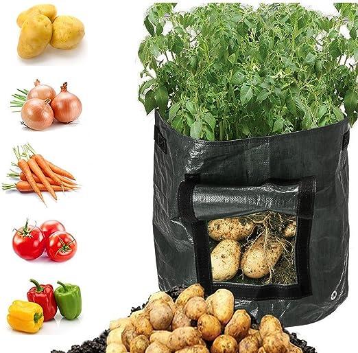 DesignerBox - Bolsas para cultivo de patata, para jardín, verduras ...