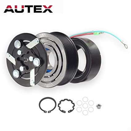 Amazon.com: AUTEX AC A/C Compressor Clutch Coil Assembly Kit CO 10663AC 38810PNB006 38870PNB006 Replacement for 2002 2003 2004 2005 2006 HONDA CR-V: ...