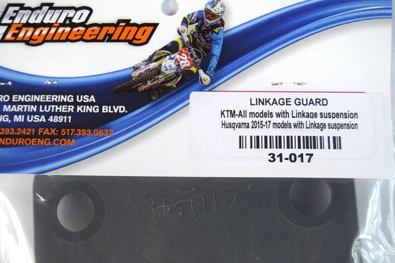 Enduro Engineering Skidplate Mounted Linkage Guard 31-017 - Compatible with KTM Husqvarna GasGas Beta Sherco