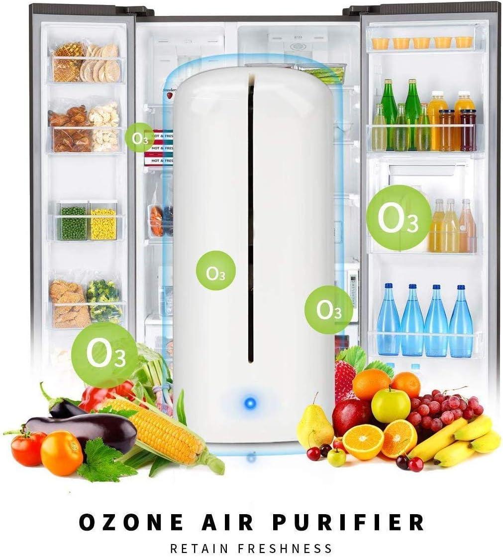 XYNB Purificador de ozono para refrigerador, desodorizador de ...