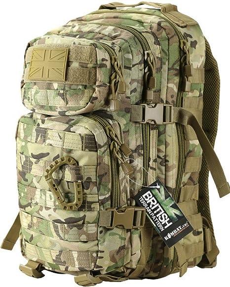 Medium Assault Pack 40 Litre British Olive Green tactical Gear