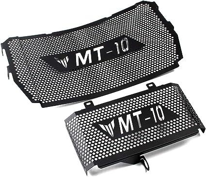 Cubierta Protector de la rejilla del radiador Parrilla de acero inoxidable para Yamaha MT10 MT-10 2016 2017 2018 2019