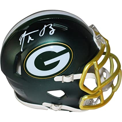eb4910580 Image Unavailable. Image not available for. Color  Aaron Rodgers  Autographed Signed Green Bay Packers ...